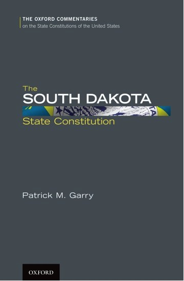 The South Dakota State Constitution Cover
